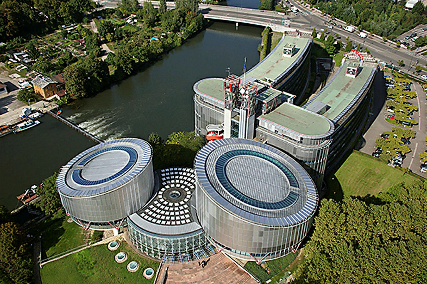 Mannréttindadómstóll Evrópu í Strasbourg í Frakklandi.