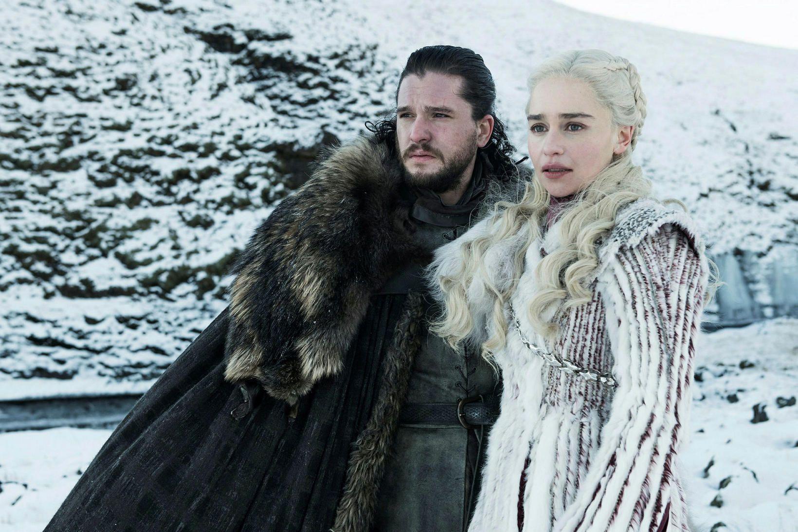 Úr sjónvarpsþáttunum Game of Thrones sem voru teknir að hluta …