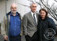 Ásgeir, Ralph Bilby og Anna