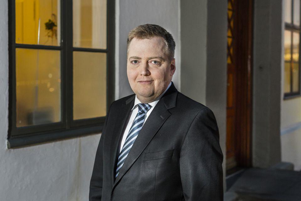 Sigmundur Davíð Gunnlaugsson.