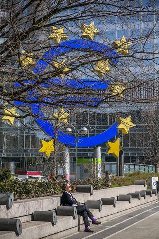 Seðlabanki Evrópu í Frankfurt