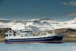 Aðalsteinn Jónsson var farsælt og fengsælt skip meðan það var í eigu Eskju, en frá …