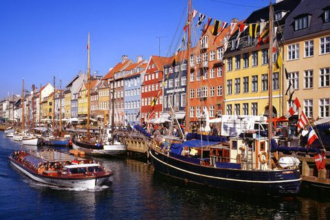 Denmark is the destination of choice for many Icelandic tourists this summer.