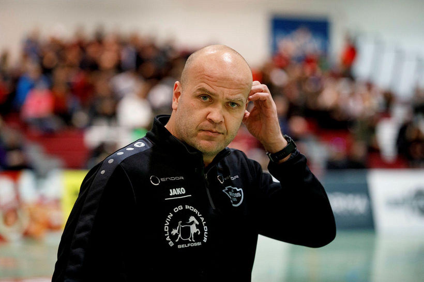 Patrekur Jóhannesson, þjálfari Selfoss.