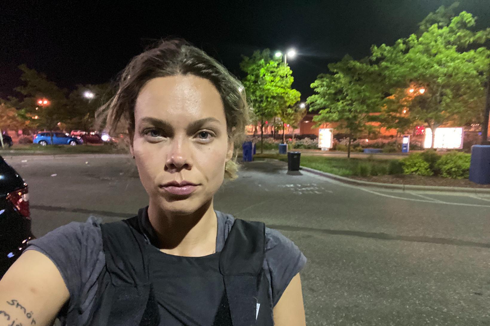 Nina Svanberg, fréttaritari sænska dagblaðsins Expressen í Bandaríkjunum, var skotin …