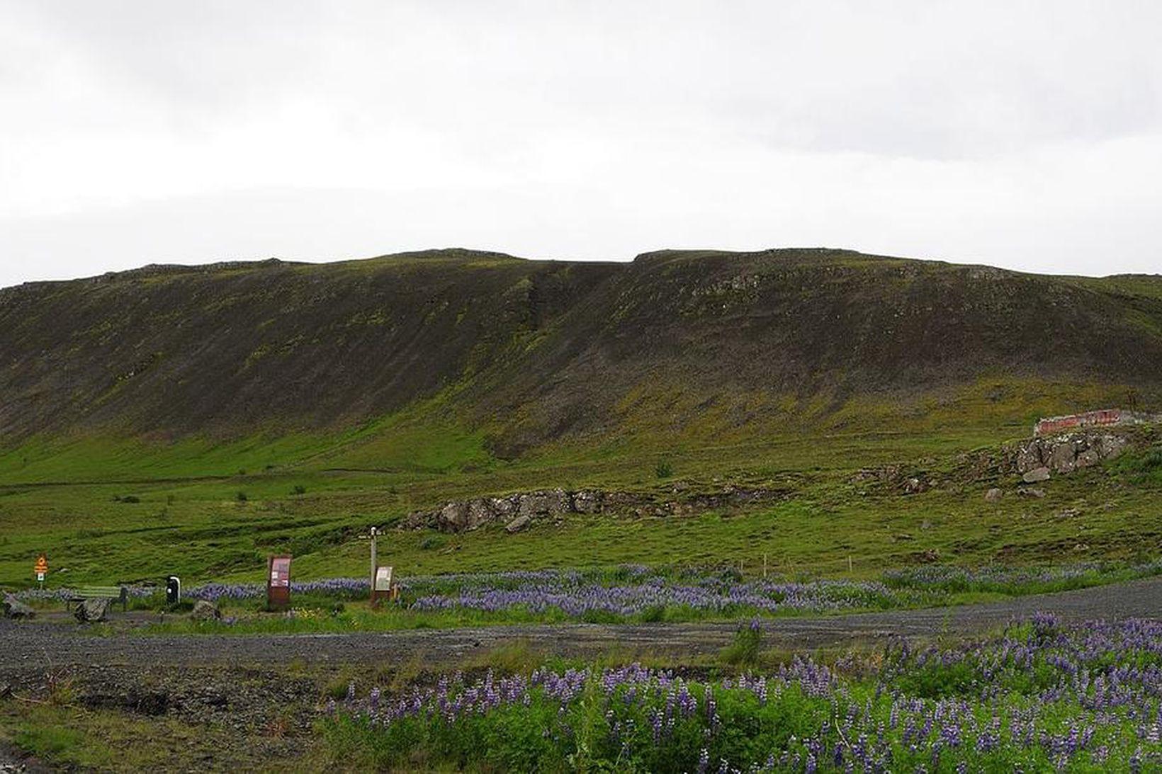 Helgafell í Mosfellsbæ.