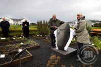 Afhjúpun minnisvarða í Nesi við Seltjörn