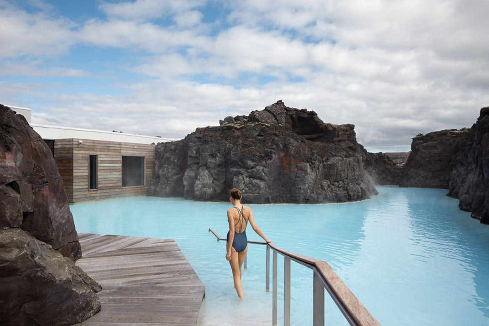 Friður og fegurð einkennir Retreat-hótelið við Bláa lónið.