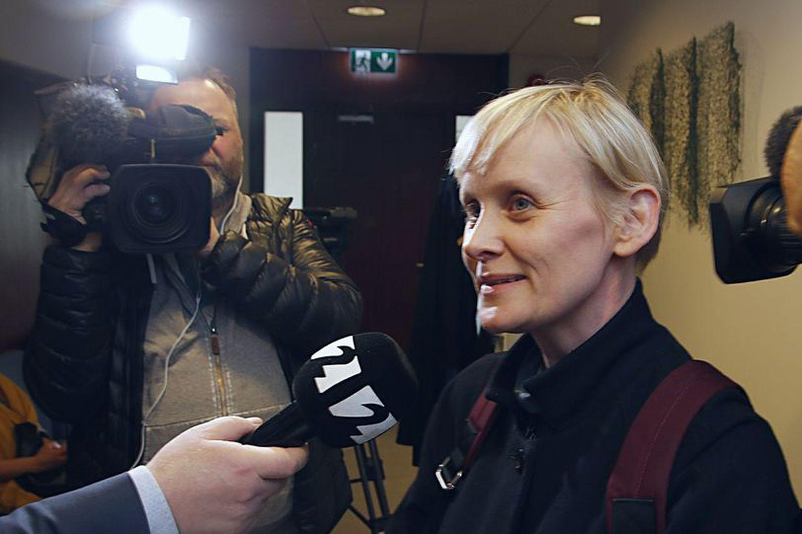 Sólveig Anna Jónsdóttir, formaður Eflingar, félagsdómur.