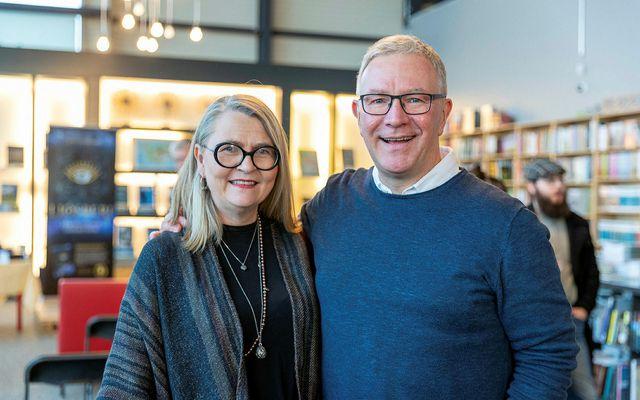 Herdís Finnbogadóttir og Ólafur Gunnar Guðlaugsson.