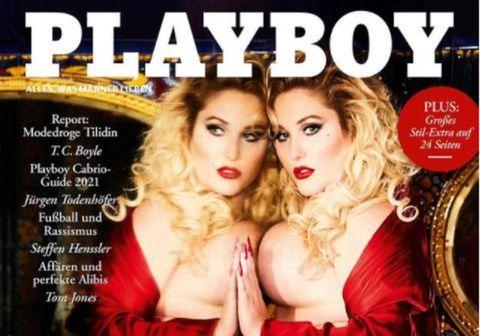 Hayley Hasselhoff á forsíðu Playboy.