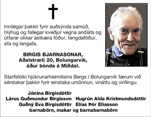 Birgis Bjarnasonar,
