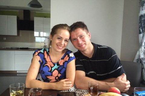 Agnieszka and Dawid Dawbrowski are now living back in Poland after spending five years in Iceland.