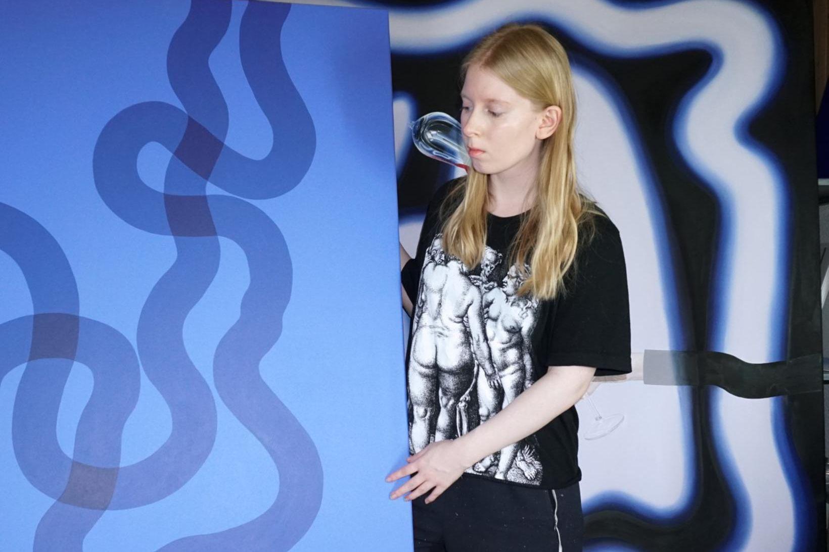 Helena Margrét myndlistarkona hefur fengið alþjóðlega athygli á árinu.