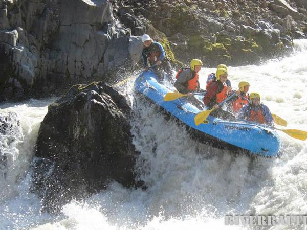 There are three rivers you can raft down in Iceland, two of them are family friendly. The third everything but.