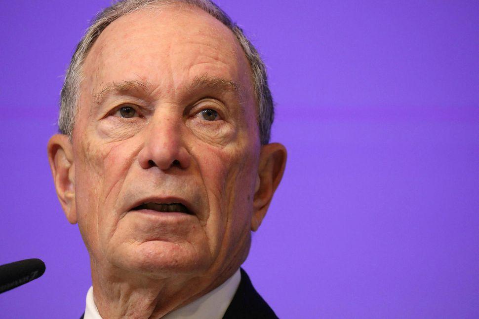 Michael Bloomberg, fyrrverandi borgarstjóri New York-borgar.