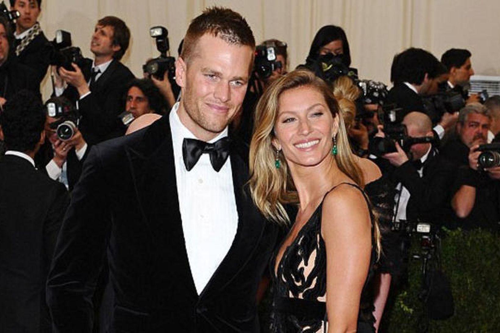 Tom Brady og Gisele Bundchen.