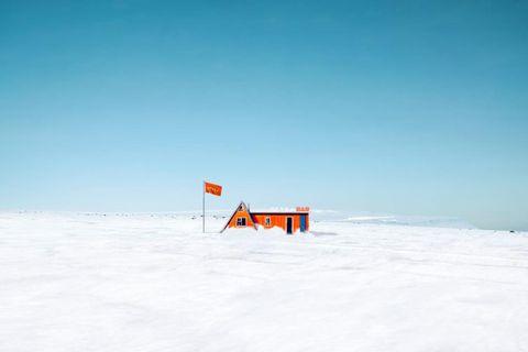 Barinn er staðsettur 64.565653°N-20.024822°W fyrir þá sem eru með gott GPS tæki í bílnum.