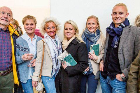 Orri Magnússon, Hólmfríður Traustadóttir, Þóra Guðjónsdóttir, Pálína Magnúsdóttir, Sara Sturludóttir og Sölvi Sturluson.