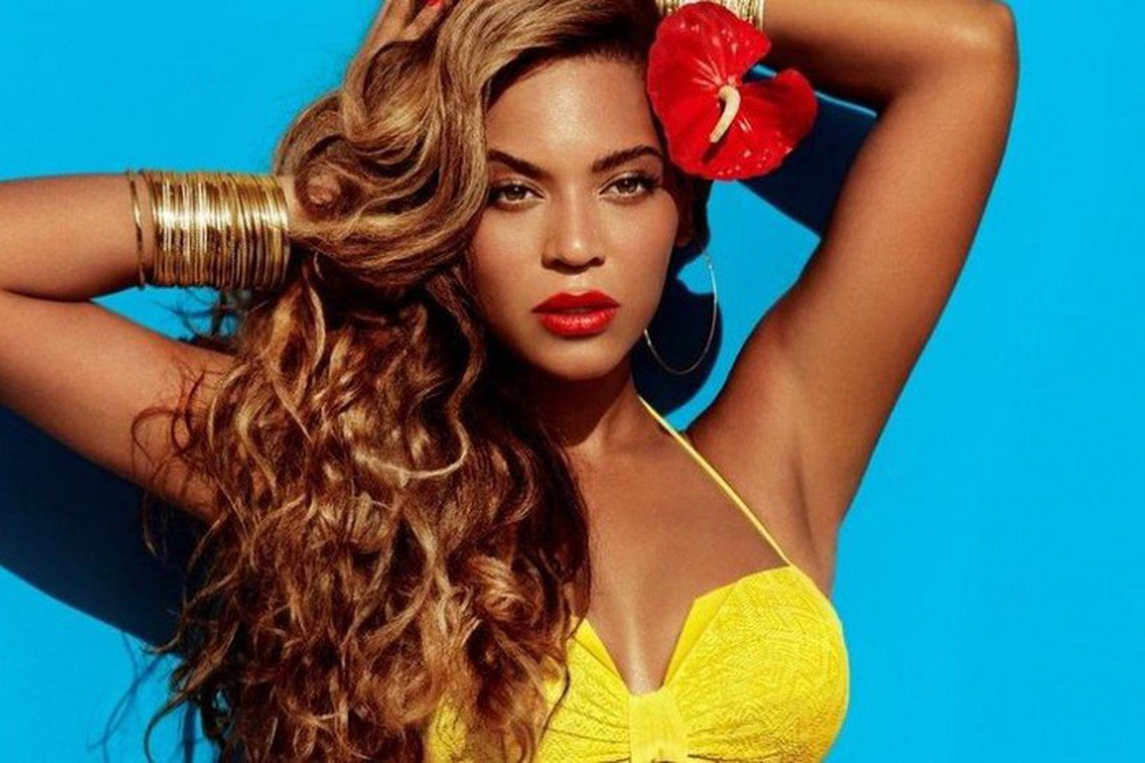 Beyonce var þekkt fyrir að sýna handarkrikana.