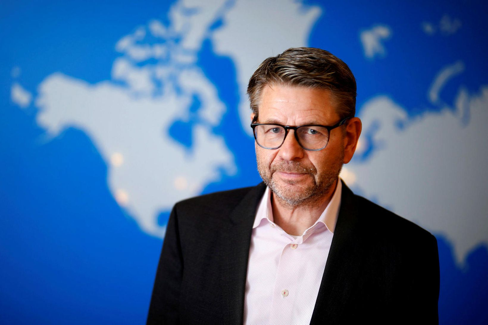 Jón Sigurðsson forstjóri Össurar.