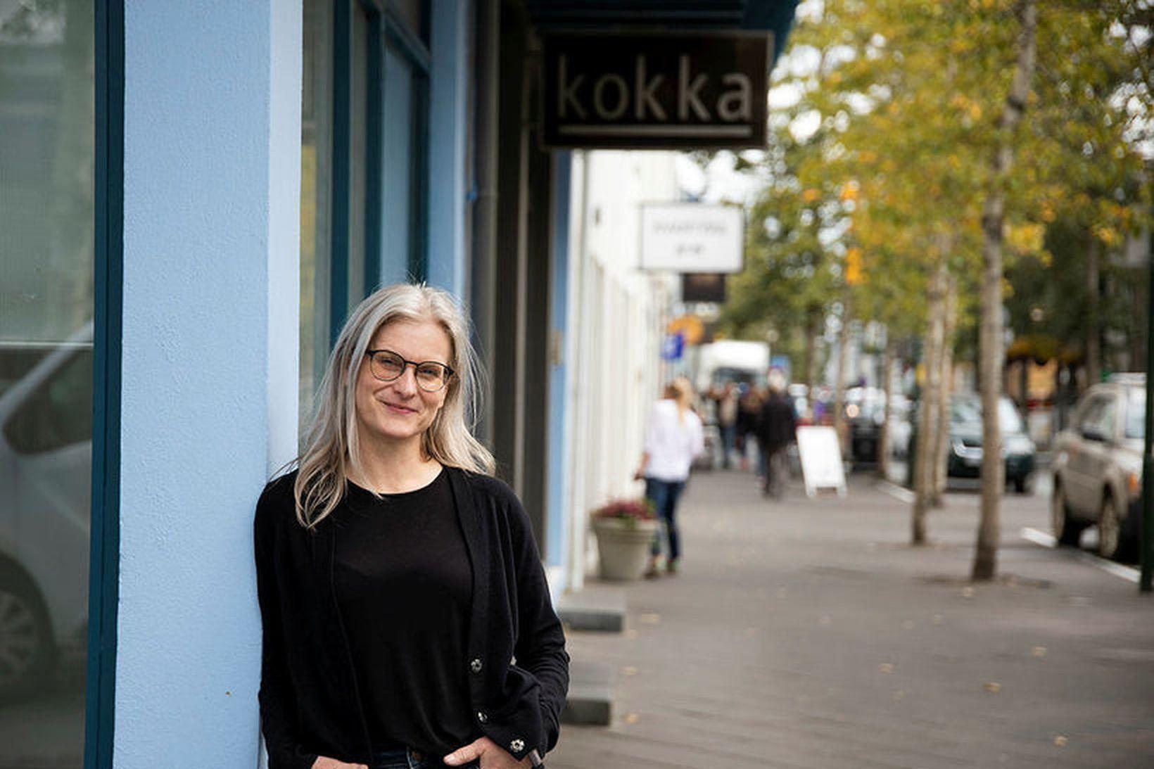 Guðrún Jóhannesdóttir eigandi Kokku.