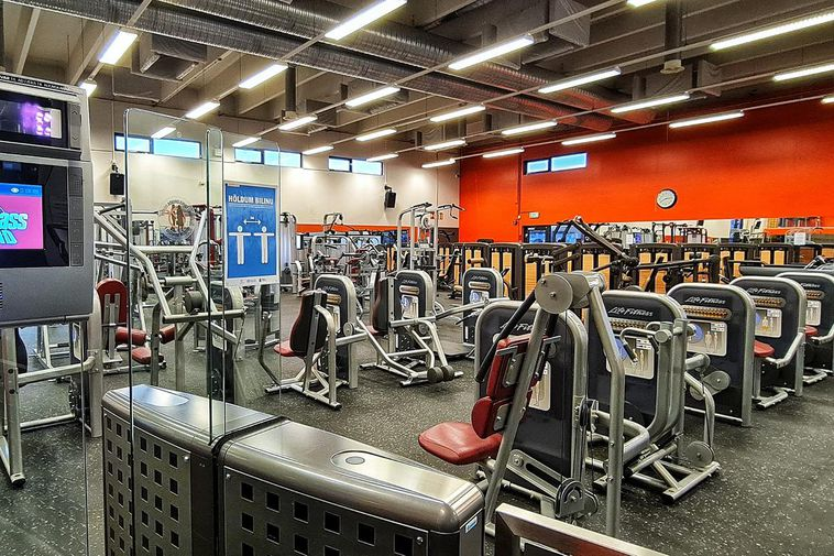 From World Class fitness center, Ögurhvarf. This part of the center will remain closed.