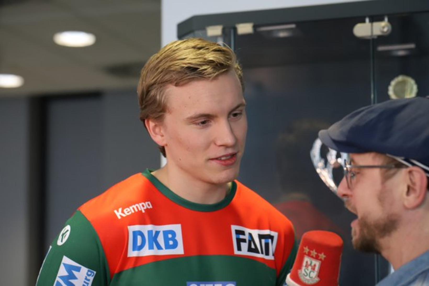 Gísli Þorgeir Kristjánsson skoraði fjögur mörk fyrir Magdeburg.
