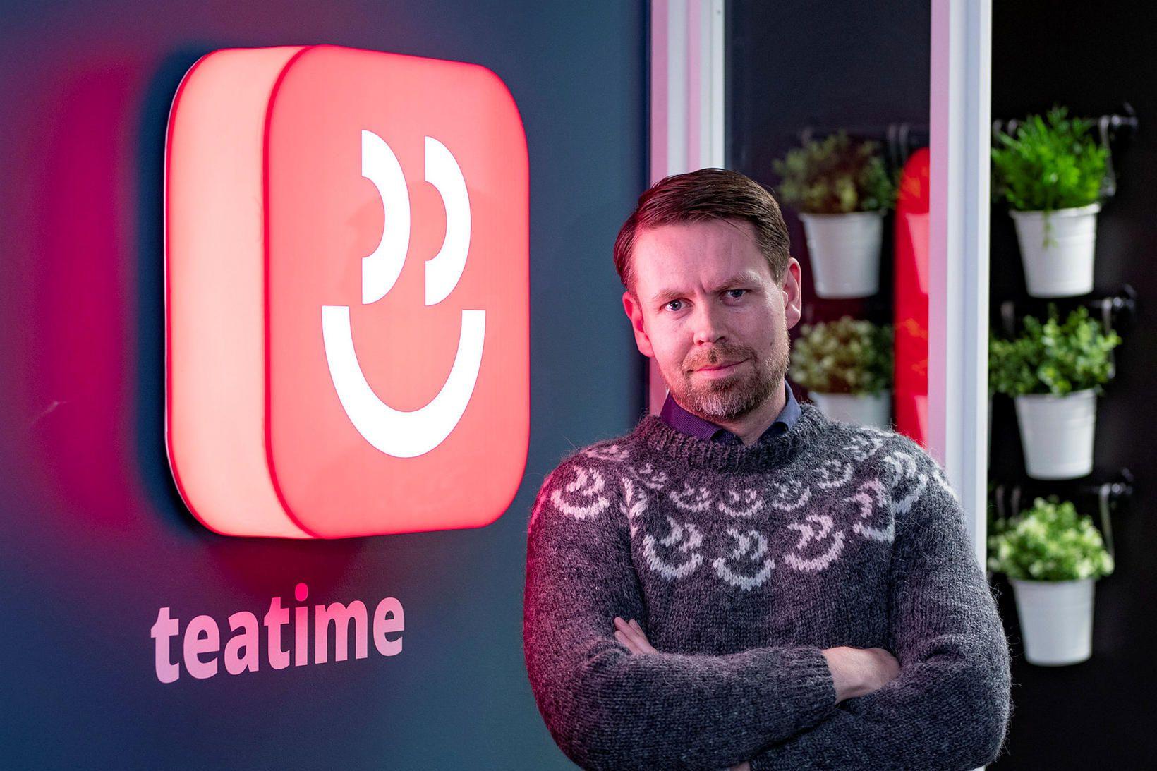 Þorsteinn Baldur Friðriksson forstjóri Teatime Games.