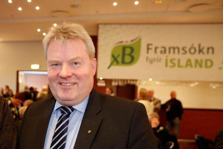 Sigurður Ingi Jóhannsson, verðandi sjávarútvegs-, landbúnaðar og umhverfisráðherra.