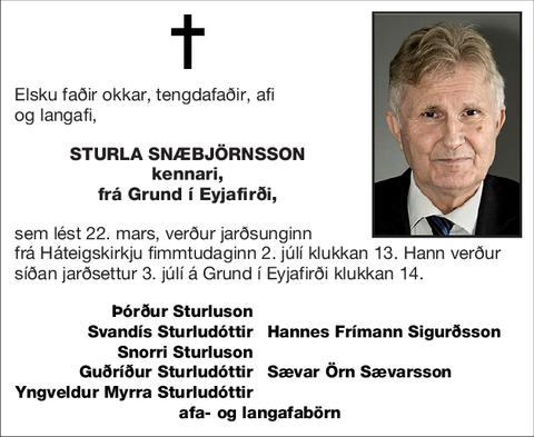 Sturla Snæbjörnsson