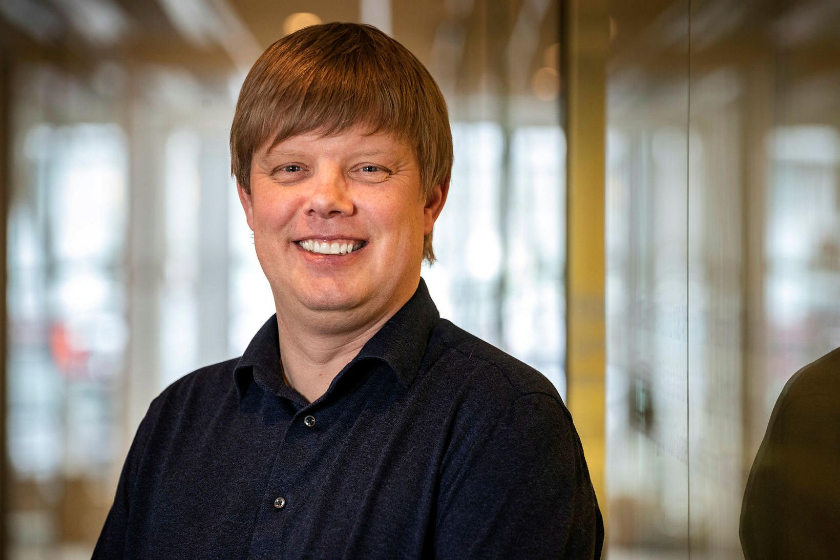 Ólafur Finnbogason fasteignasali á Mikluborg.