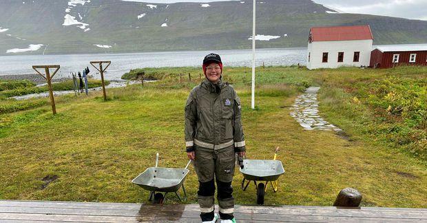 Brynja Huld Óskarsdóttir var landvörður á Hornströndum síðastliðið sumar.