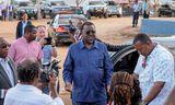 Hage Geingob hefur verið forseti Namibíu í eitt kjörtímabil og var endurkjörinn í umdeildum kosningum ...