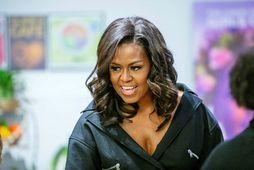 Michelle Obama er dugleg að hreyfa sig.