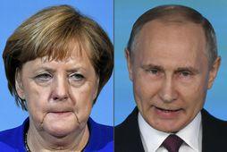 Merkel ferðast til Moskvu á laugardaginn til að funda með Pútín.