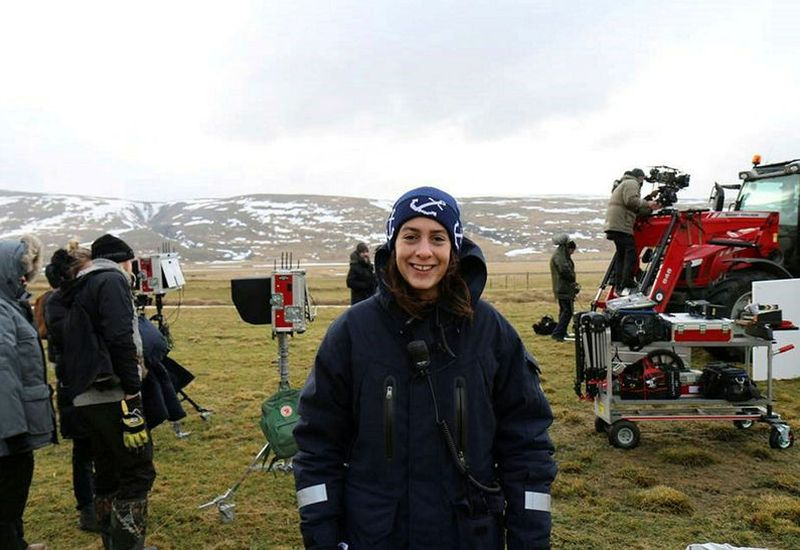Sara Nassim has been working in the movie industry in Iceland and in the US for a decade.