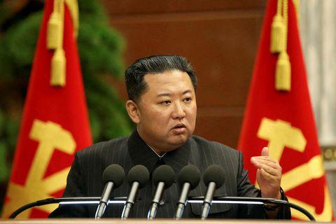 Kim Jong Un, leiðtogi Norður-Kóreu.