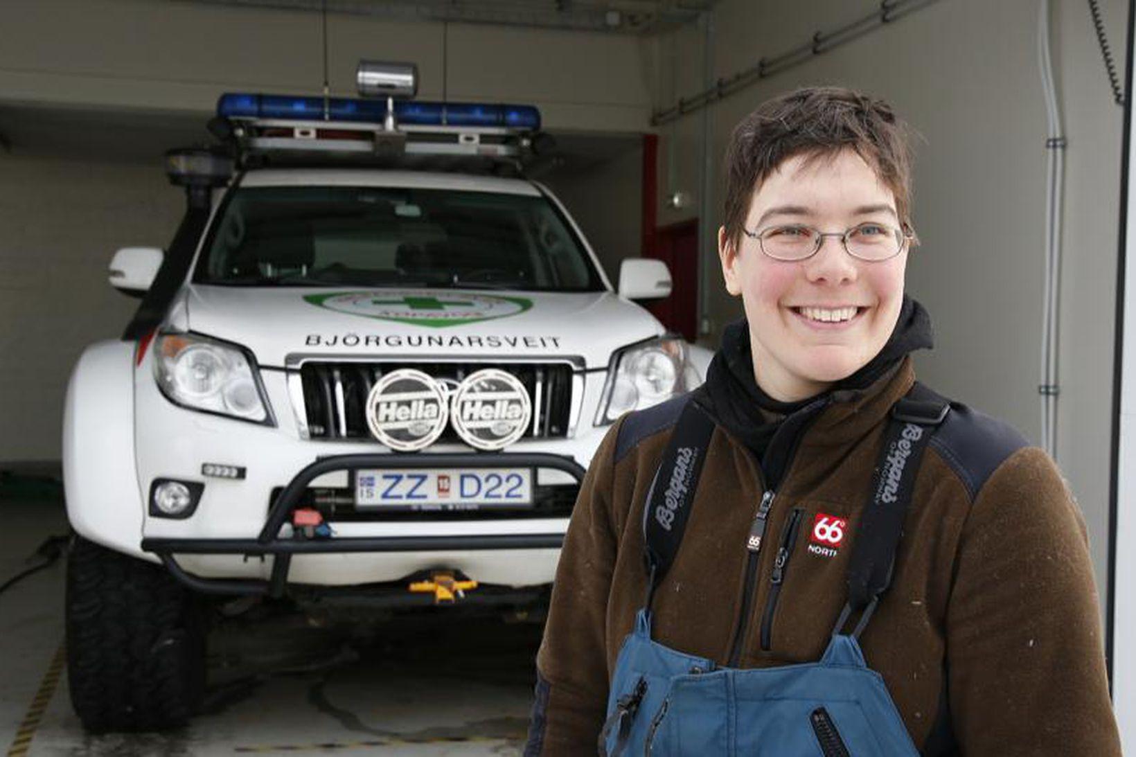 Kerstin Langenberger er komin til höfuðborgarsvæðisins.