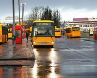 A storm raging in Iceland right now will affect public transportation.