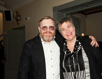 Jón Gnarr og Björk Vilhelmsdóttir.