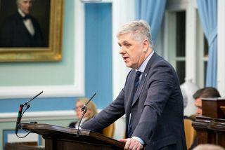 Benedikt Jóhannesson á Alþingi.