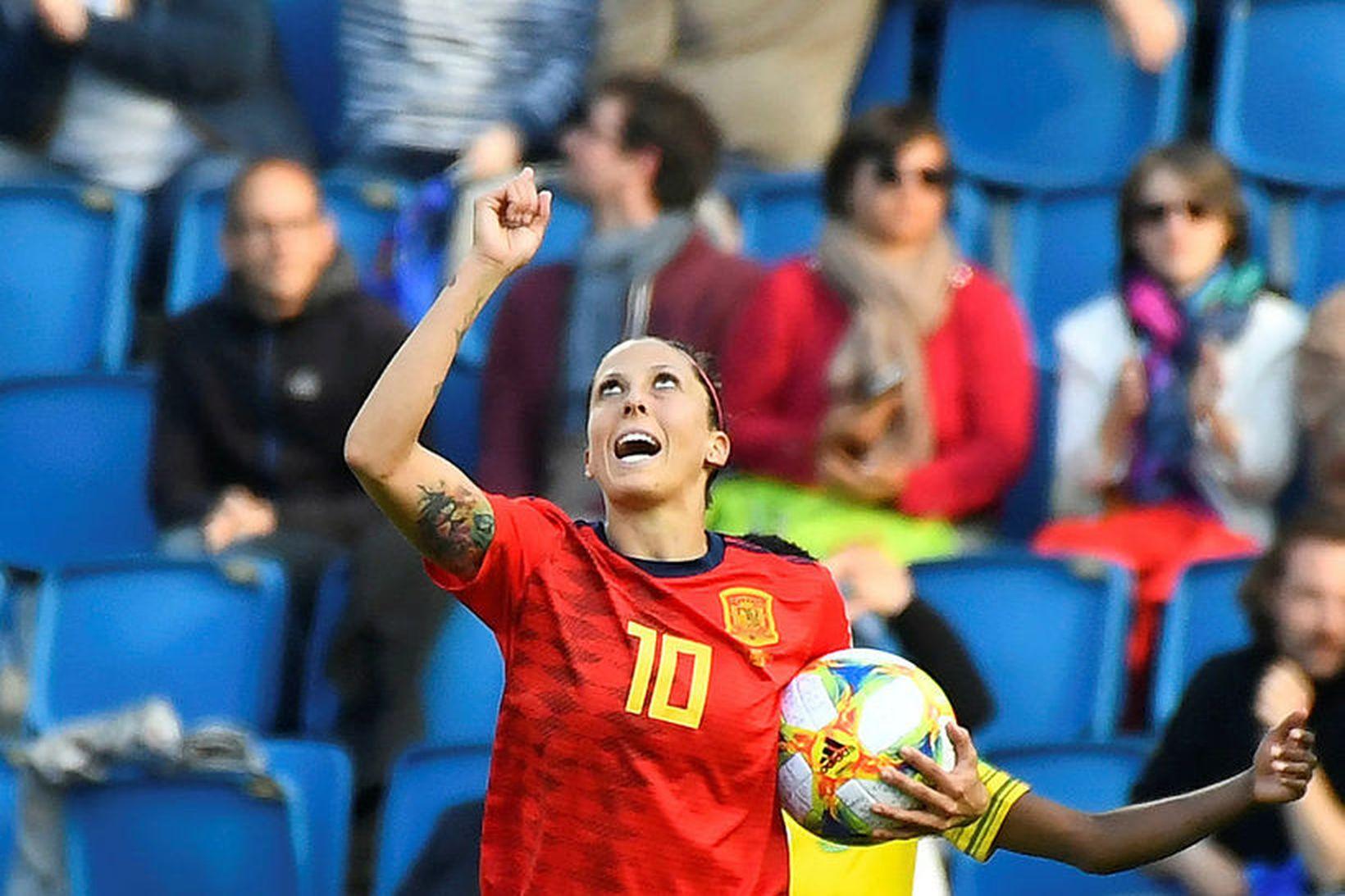 Jennifer Hermoso er lykilmaður í spænska landsliðinu.