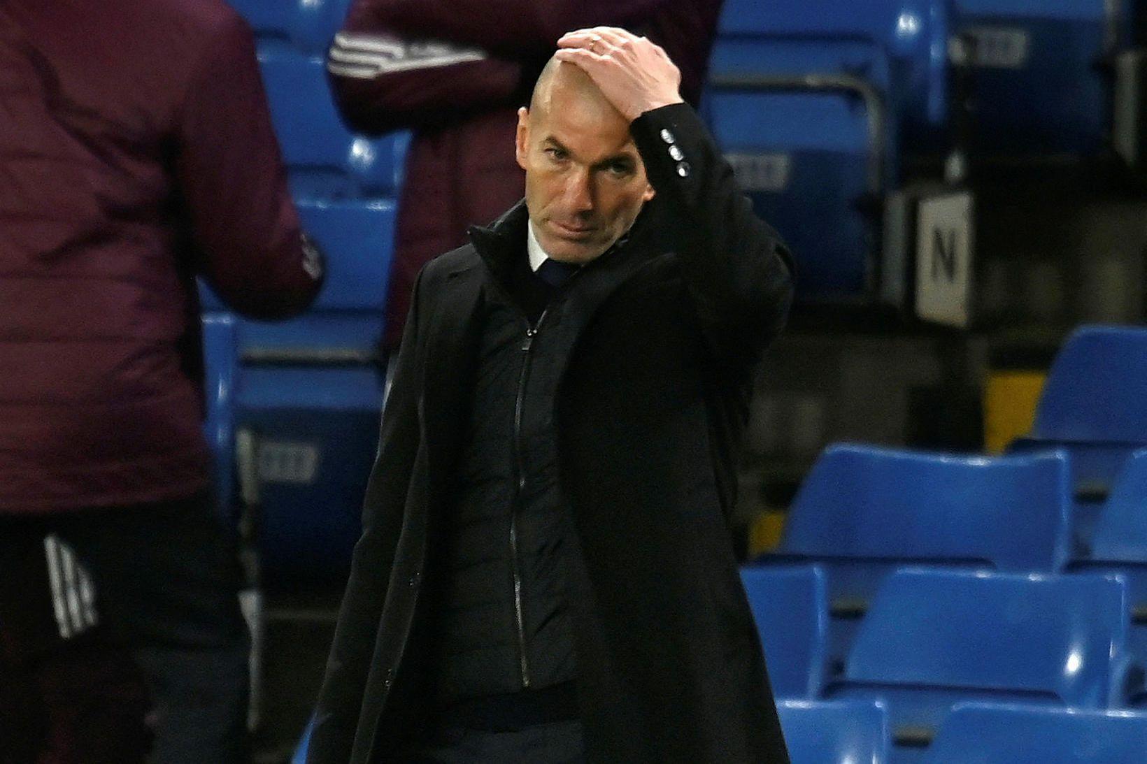 Zinedine Zidane mun yfirgefa Real Madríd í lok tímabilsins.