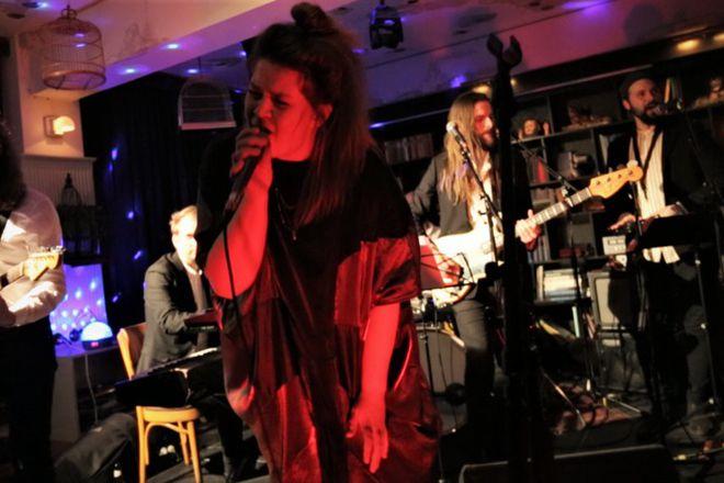 The Kex Hostel karaoke last year with Sigriður Thorlacius of Hjaltalín singing.