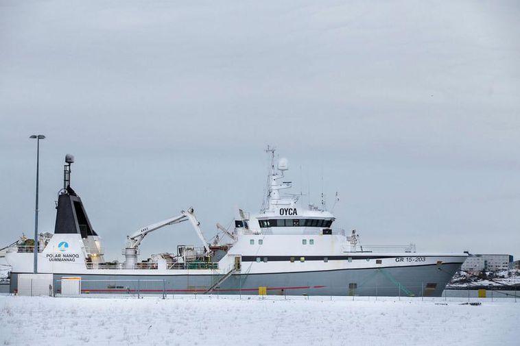 Both men were crewmembers of the Polar Nanoq.