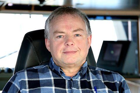Sigþór Kjartansson, skipstjóri á Sólbergi, segir veiðina á Grænlandssundi ganga heldur hægt.