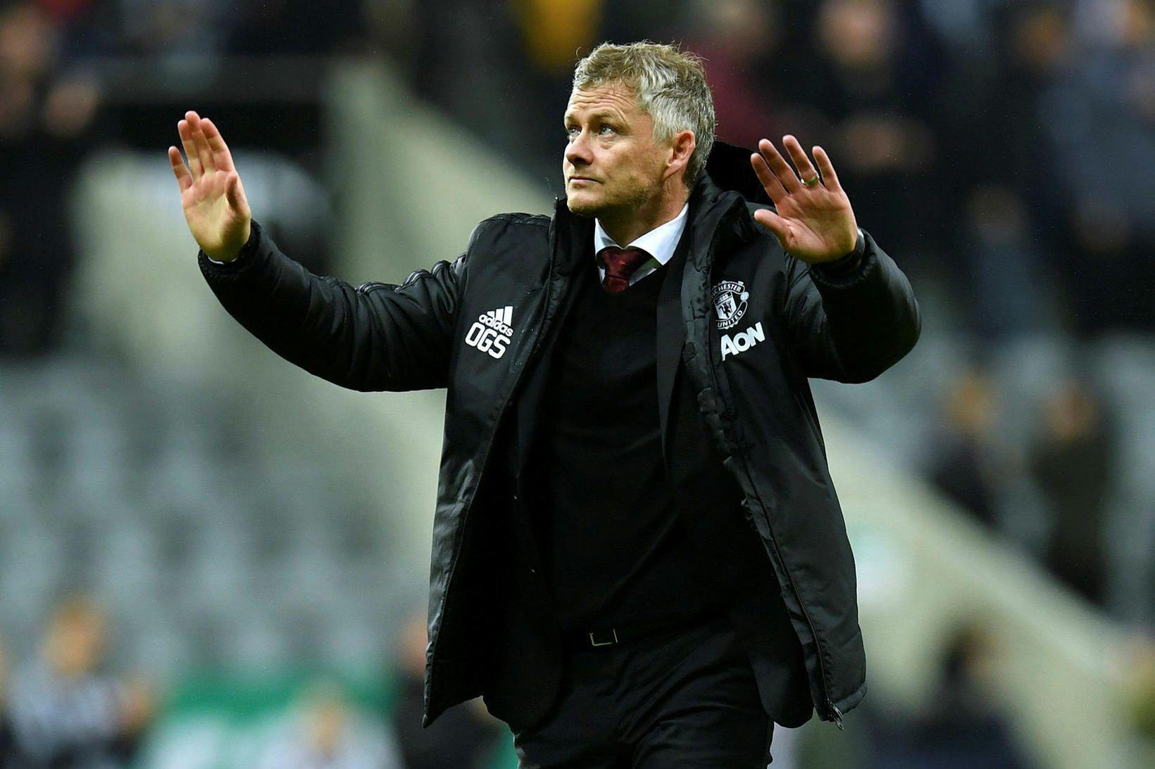 Ole Gunnar Solskjær er á síðasta séns hjá Manchester United …