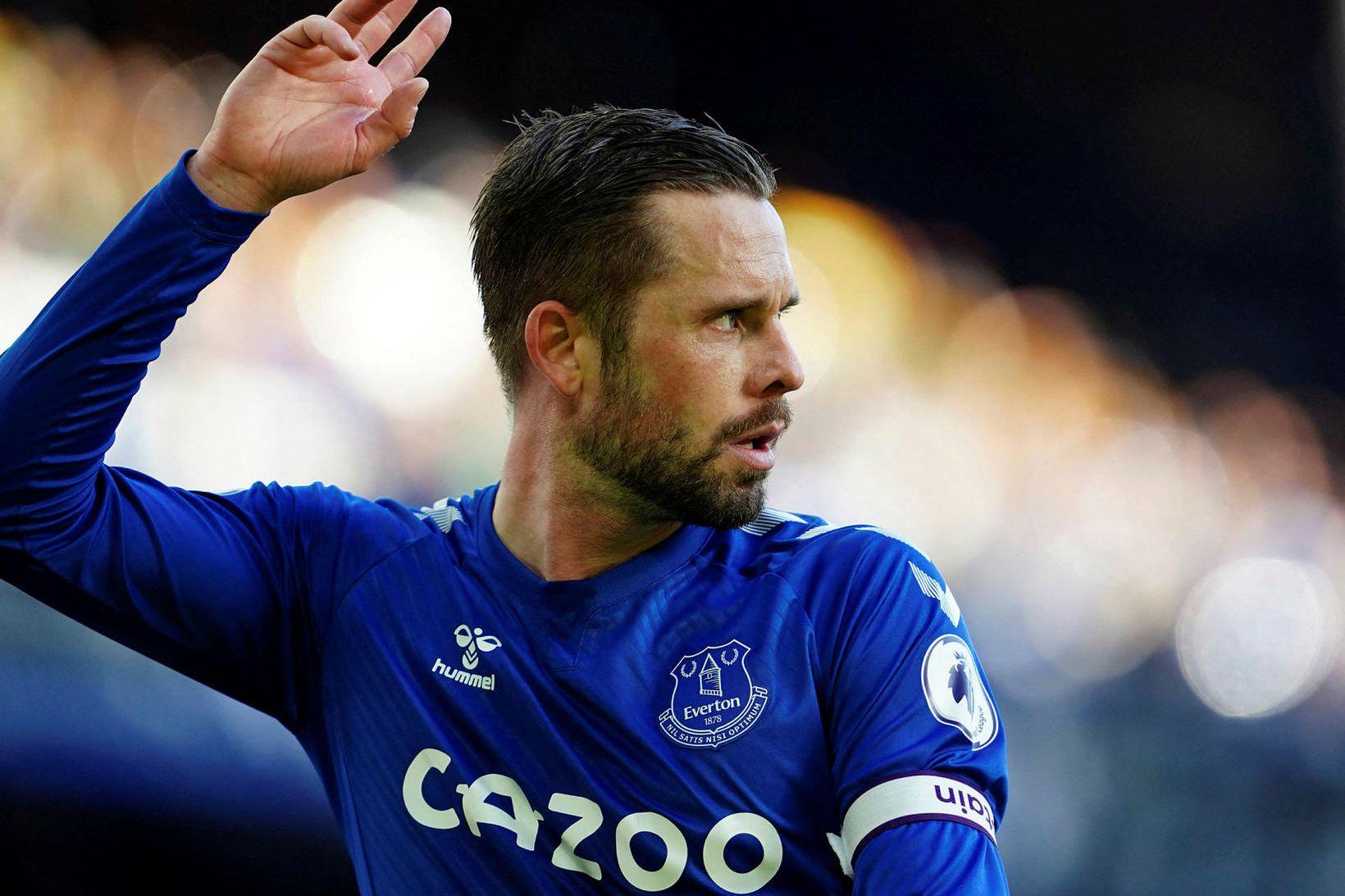 Gylfi Þór Sigurðsson leikmaður Everton.