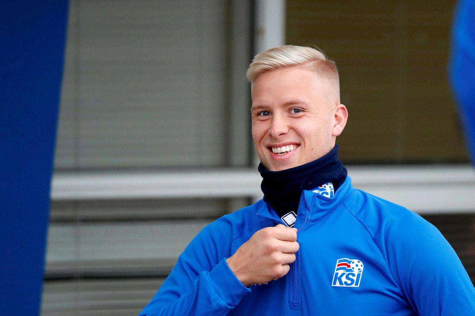 Hörður Björgvin Magnússon.